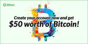 Bitcoin worth of $50